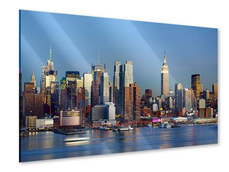 Acrylglasbild Skyline Midtown Manhattan