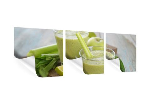 Panorama Poster 3-teilig Smoothie