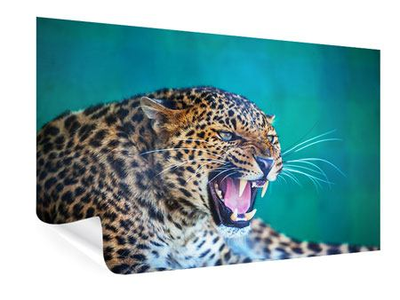 Poster Achtung Leopard